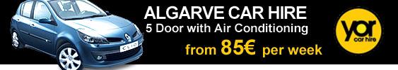 YOR Car hire - Rent a car Algarve Airport Faro 24/7