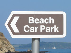 car bach park sign - copia