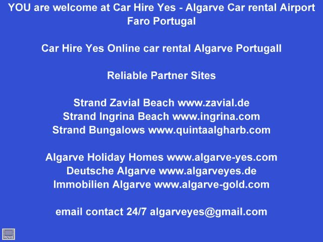 Happy hour airport faro video rent a car car hire yes
